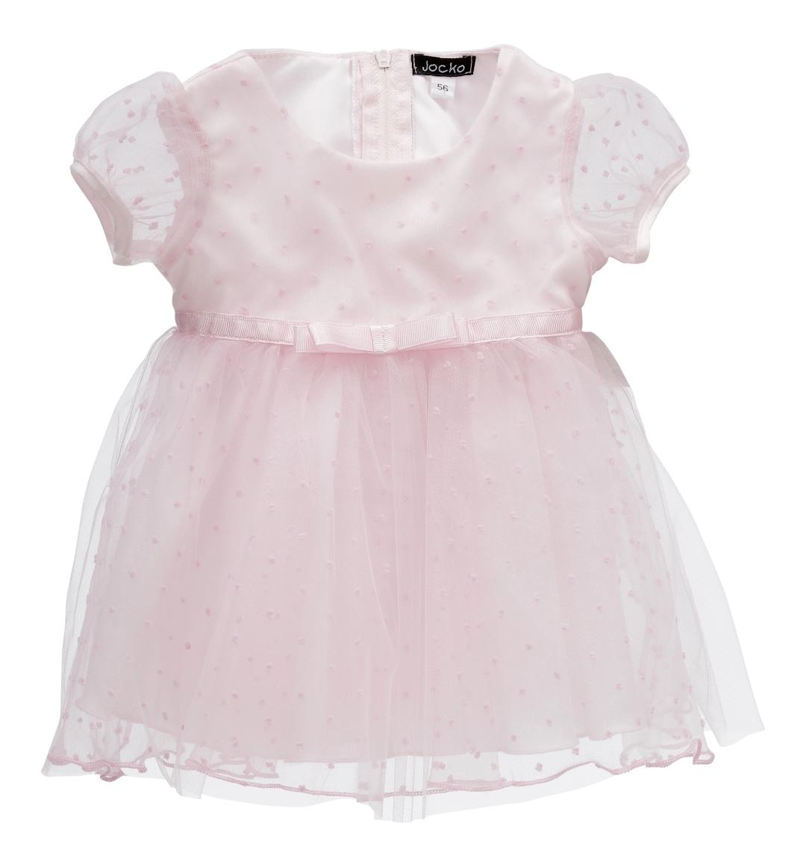 52f02ee17 Lyserød baby kjole